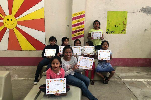 Last class at Casa de la Niña